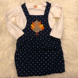12 Month thanksgiving dress  🦃